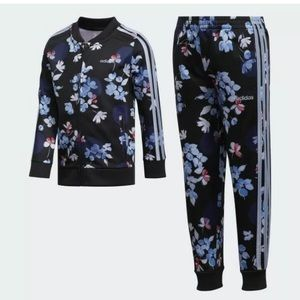 Adidas Youth Colorful Track  Suit Jogger Girls